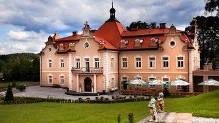 Berchtold zámek Kunice Vidovice