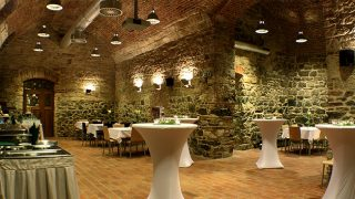 Kamenný sál rezidence Ostrovní